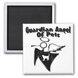 Guardian Angel Of Pets Fridge Magnet