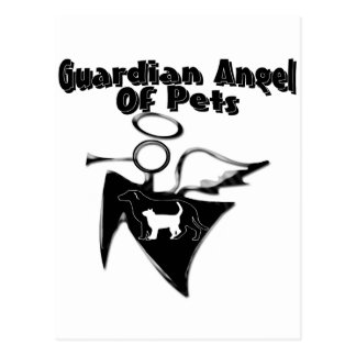 Guardian Angel Of Pets Post Card