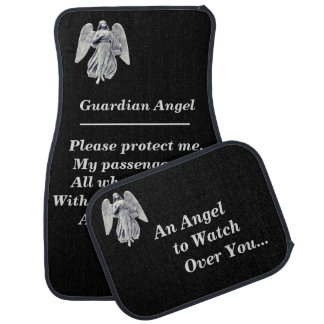 Guardian Angel Prayer Car Mat