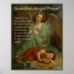 Guardian Angel Prayer for Boys Poster