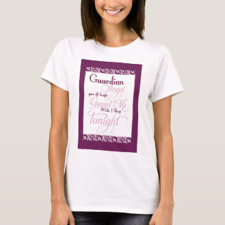 Guardian Angel Prayer T-Shirt