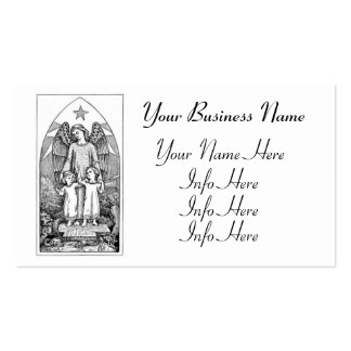 Guardian Angel Protecting Children Pack Of Standard Business Cards