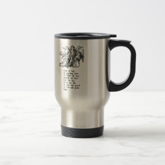 Guardian Angel Quote Travel Mug