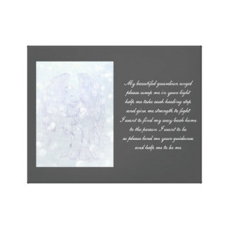 Guardian Angel recovery Canvas Print