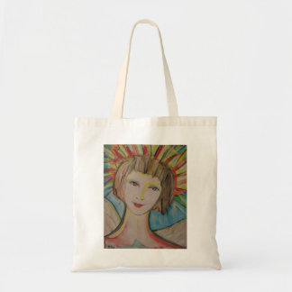 Guardian Angel Tote Bag by ValAries
