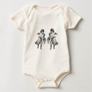Guardian Angels with Cornucopia Baby Bodysuit