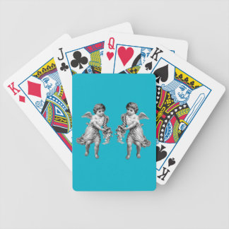 Guardian Angels with Cornucopia Bicycle Playing Cards