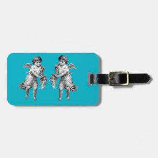 Guardian Angels with Cornucopia Luggage Tag