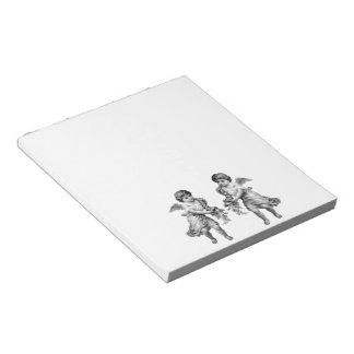 Guardian Angels with Cornucopia Notepad