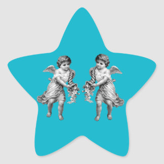 Guardian Angels with Cornucopia Star Sticker