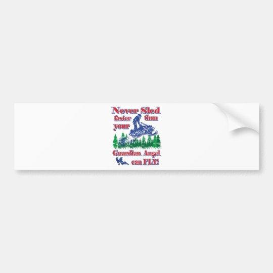 Guardian-Angle-colour Bumper Sticker