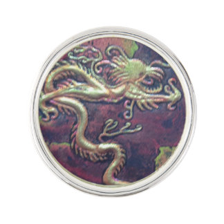 Guardian Dragon Lapel Pin