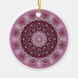 Guardian of LOVE Mandala Christmas Ornament
