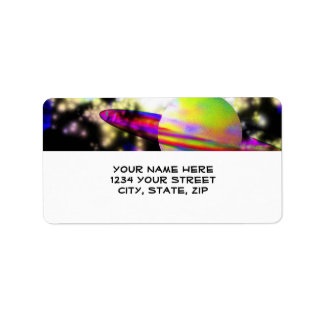 Guardian of the Galaxy Address Label