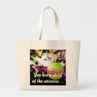 Guardian of the Galaxy DESIDERATA Large Tote Bag