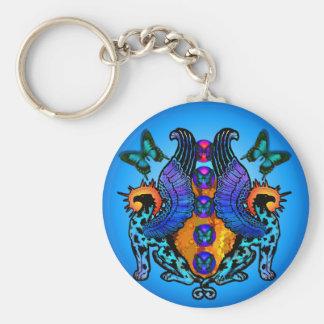 Guardians at Dawn Gloaming Keychain