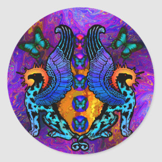 Guardians at Dawn Passion Sticker