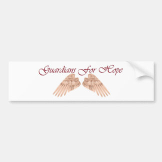 Guardians For Hope Bumper Stickers