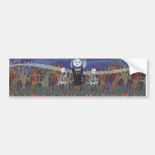 Guardians of a Haunted Forest Bumper Sticker