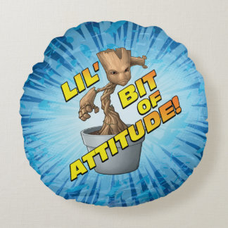 Guardians of the Galaxy | Baby Groot Attitude Round Cushion