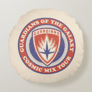 Guardians of the Galaxy | Cosmic Mix Tour Badge Round Cushion