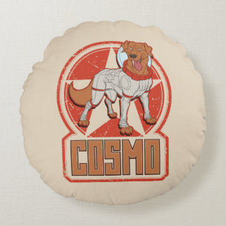 Guardians of the Galaxy | Cosmo Character Badge Round Cushion