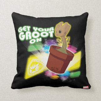 Guardians of the Galaxy | Get Your Groot On Cushion
