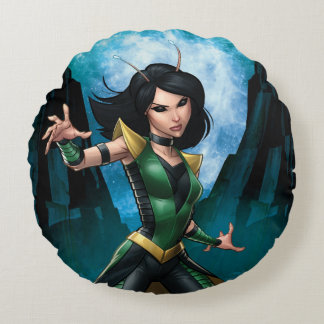Guardians of the Galaxy | Mantis Character Art Round Cushion