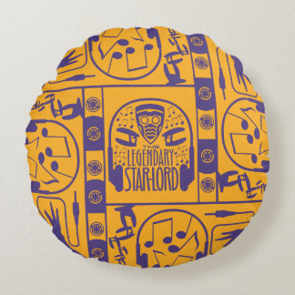 Guardians of the Galaxy | The Legendary Star-Lord Round Cushion