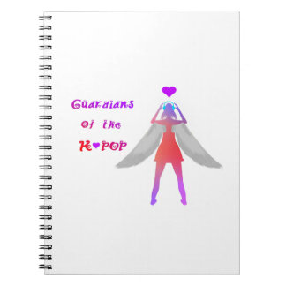Guardians of the K-pop 2.0 Notebooks