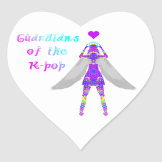 Guardians of the K-pop Heart Sticker