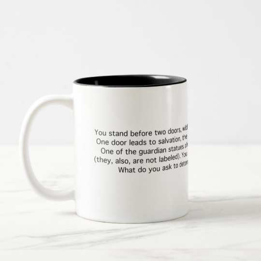 Guardians: Truth and Lies Two-Tone Coffee Mug