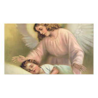 Guarding angel of children,vintage,reproduction pack of standard business cards