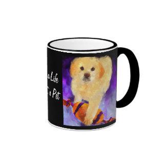 Guarding the Ball (puppy) Collectible Coffee Mug