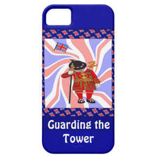 Guarding the tower of London iPhone 5 Case
