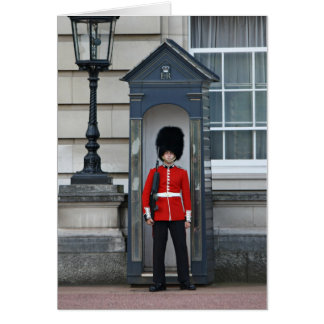 Guardsman, Buckingham Palace Card