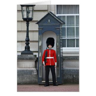 Guardsman, Buckingham Palace Greeting Card