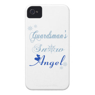 Guardsman's Snow Angel Blackberry Bold Case