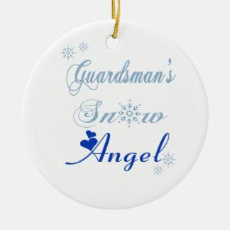 Guardsman's Snow Angel Ornament