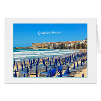 Guarisci Presto - Get Well Soon in Italian Card