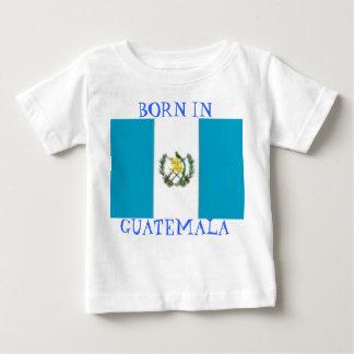 guat, BORN IN GUATEMALA Baby T-Shirt