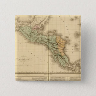 Guatemala 15 Cm Square Badge