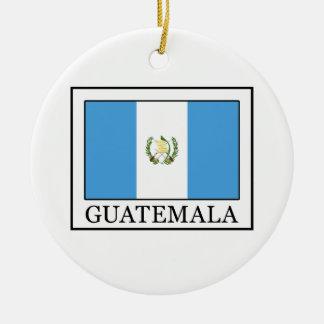 Guatemala Christmas Ornament