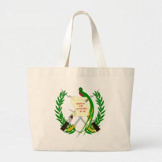 Guatemala COA Jumbo Tote Bag