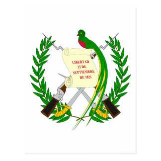 Guatemala Coat of Arms Postcard
