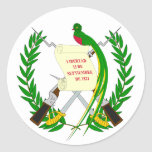 Guatemala Coat of Arms Sticker