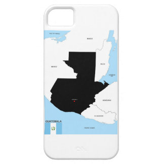 guatemala country political map flag iPhone 5 covers