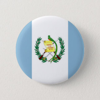 Guatemala Flag 6 Cm Round Badge