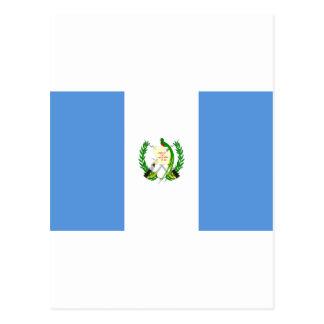 Guatemala Flag GT Postcard
