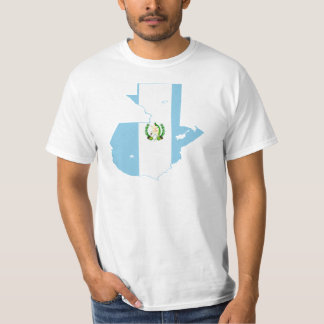 Guatemala Flag Map GT T-Shirt